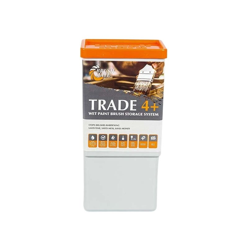 Image of Trade 4+ Paint Brush Storage Solution With Pad - Brush Mate