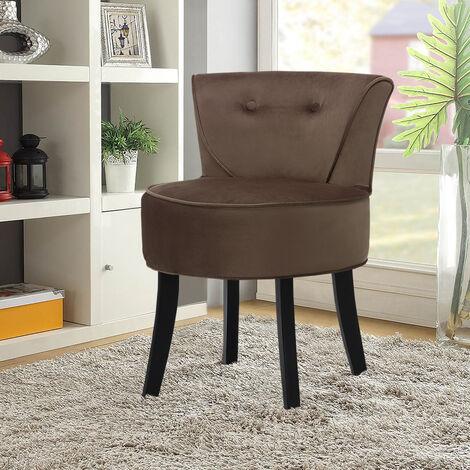 "main image of ""Dressing Table Chair Stool Line Grey Chair Bedroom Vanity Makeup Stool"""