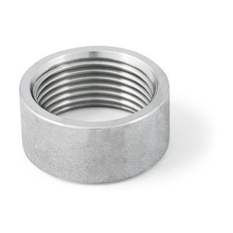 "BSP 1-1/4"" Half Socket (Half Coupling) T316 (A4) Stainless Steel"