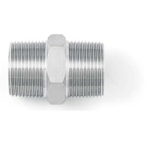 "BSP 1/2"" Hexagon Nipple - A4 (T316) Marine Grade Stainless Steel"