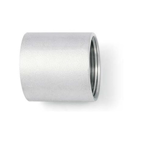 """BSP 1/4"""" Socket (Coupling) T316 (A4) Stainless Steel"""