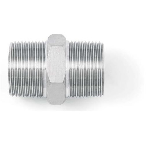 "BSP 3/4"" Hexagon Nipple - A4 (T316) Marine Grade Stainless Steel"
