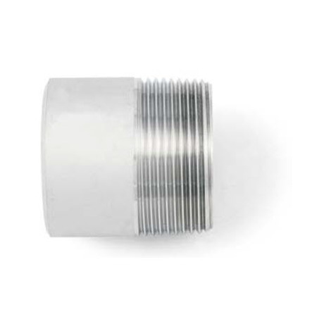 """BSP 3/4"""" Welding Nipple - Tapered / Rated- A4 (T316) Marine Grade Stainless Steel"""