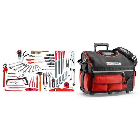 BSR20.SG4A Sélection services généraux 112 outils plus boîte à outils textile