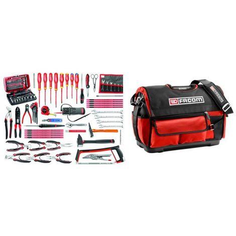BST20.E17 Sélection électronique 101 outils plus boîte à outils textile
