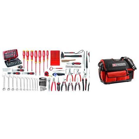 BST20.EM42A Sélection électromécanique 105 outils plus boîte à outils textile 1618.98