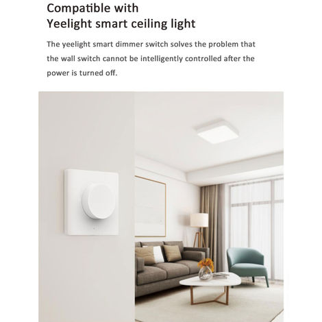 Bt Connected Smart Wall Control Switch Ac200-220V 180W (Max.) YLKG07YL