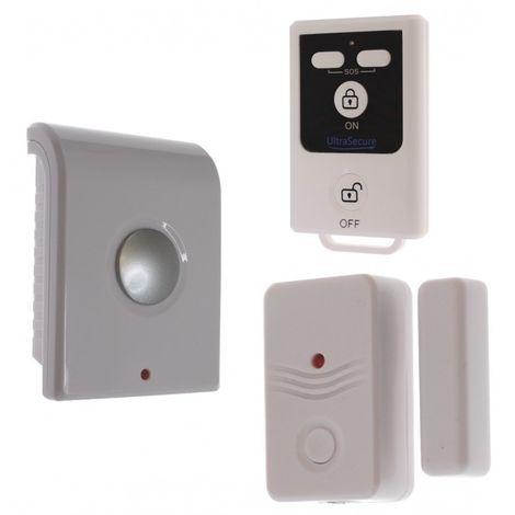 BT Wireless Door Alarm & Internal Siren (battery powered). [007-1000]