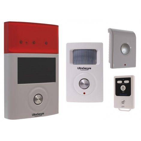 BT Wireless PIR, Internal & External Sirens Alarm System [007-0321]