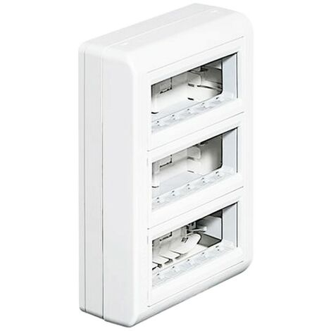Bticino Coffret mural multifonction 18 modules blanc 150418BA