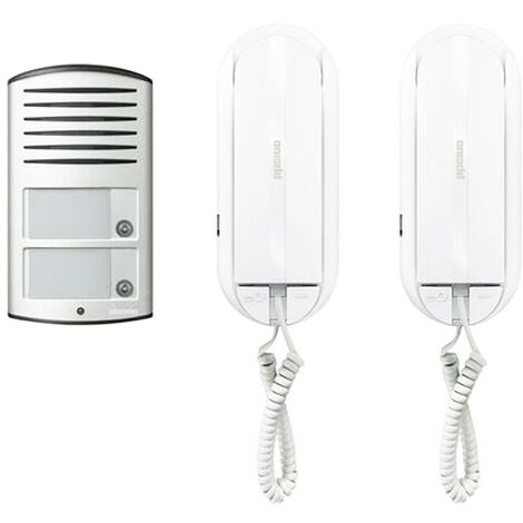BTICINO KIT INTERPHONE SYSTEM-BIFAMILIALE DE 2 FILS 366821