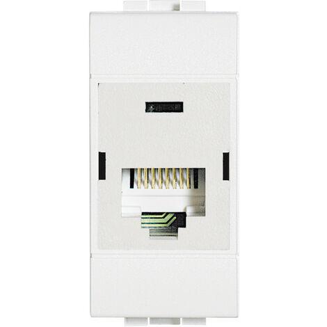 Bticino LivingLight placa de interruptor, toma de datos rj45 110 UTP cat6 N4262C6