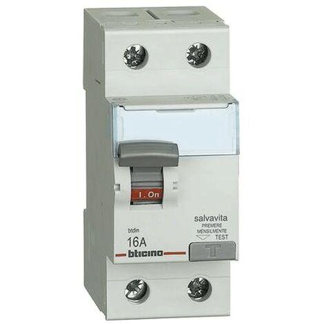 BTICINO DIFFERENZIALE PURO AC 4P 40A 300MA 0,3A G744N//40AC SALVAVITA