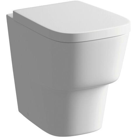 BTL Amyris Back To Wall Toilet and Soft Close Seat