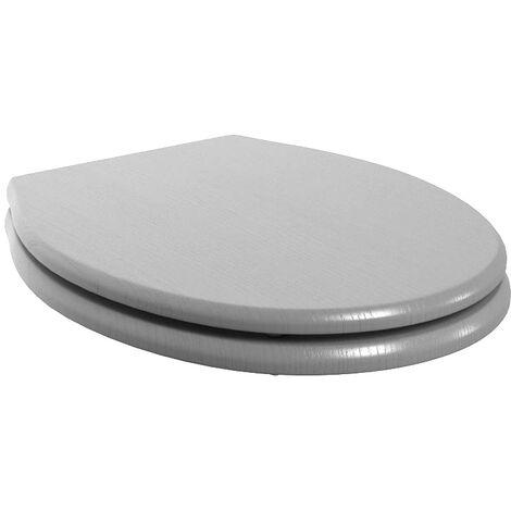 BTL Benita Soft Close Toilet Seat - Grey Ash