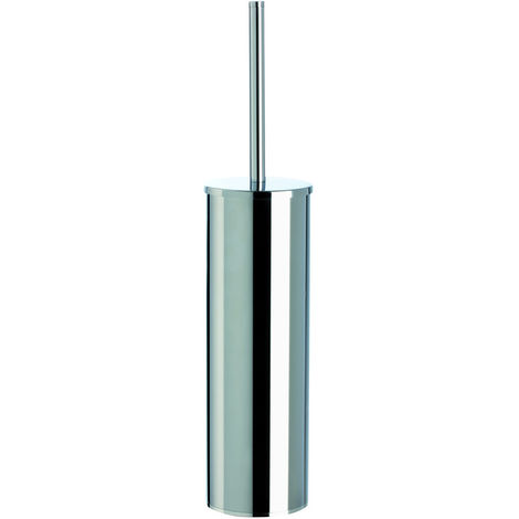 BTL Bertini Round Wall Mounted Toilet Brush Holder Chrome