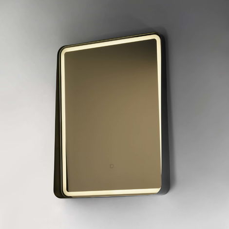 BTL Cante 600x800mm Edge Lit Illuminated Mirrors Black