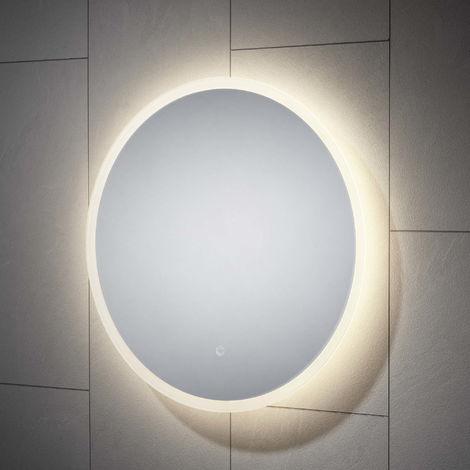 BTL Enza 600mm Round Backlit LED Mirror