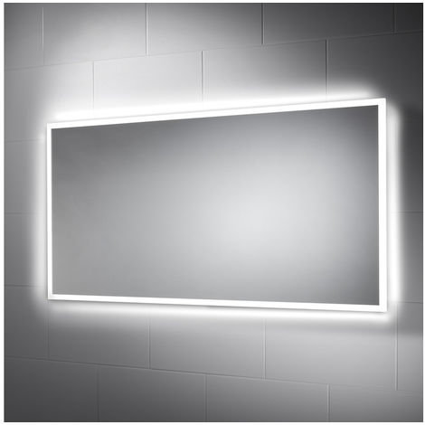 BTL Galatea 1200x600mm Border-Lit Dimmable LED Mirror