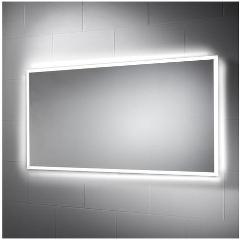 BTL Galatea 1200x600mm Border-Lit Dimmable LED Mirror