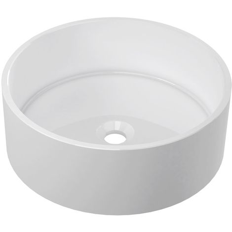 BTL Hana 426mm Round Resin Countertop Basin