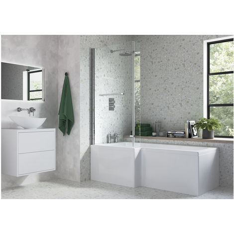 BTL: L Shape Bath Screen