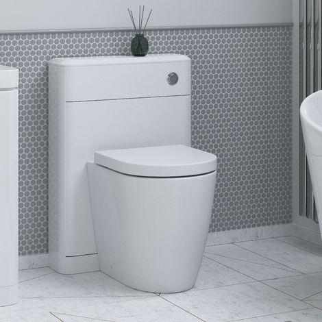 BTL Lambra 550mm Floor Standing WC Unit - White Gloss