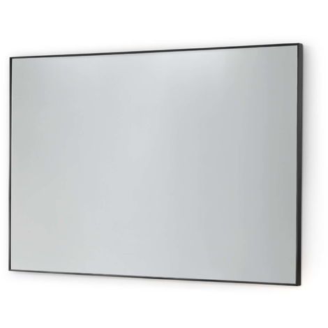 BTL Nola 600x800mm Rectangular Standard Bathroom Mirror Black Frame