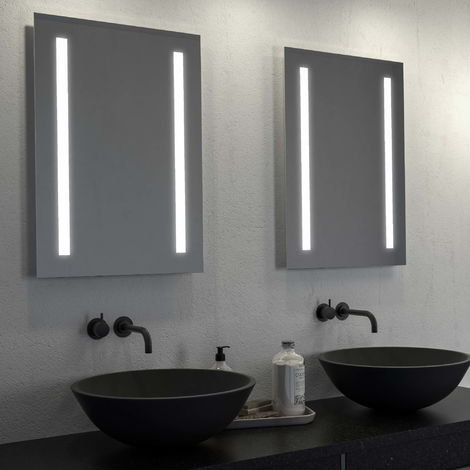BTL Orba 500x700mm Battery LED Mirror