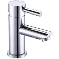 BTL Primo Deck Mounted Cloakroom Basin Mixer Tap with Click Clack WasteLow Pressure) Chrome