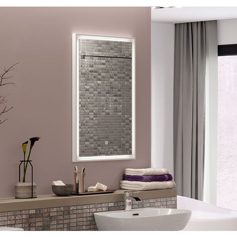 BTL Rosie 600x800mm Rectangular Framed LED Mirror