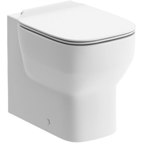 BTL Senna Back To Wall Toilet and Soft Close Seat