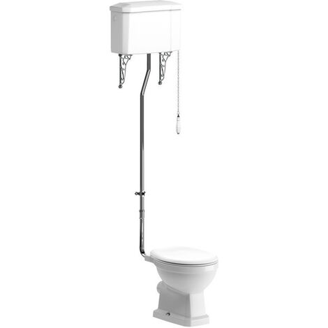 BTL Sherbourne High Level Traditional Toilet with Soft Close Seat