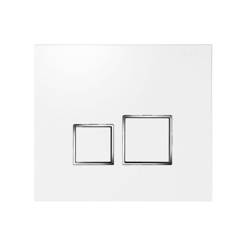 Image of BTL Square- White, Square Buttons
