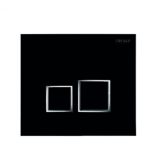 BTL Square Flushplate - Black