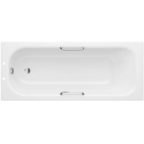 BTL Steel Standard Bath 1700x700 2TH Bath with Grips and Anti slip