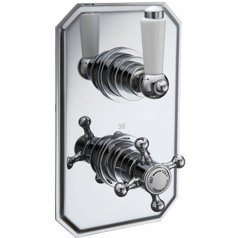 BTL Traditional 1 Way Concealed Thermostatic Shower Mixer Valve