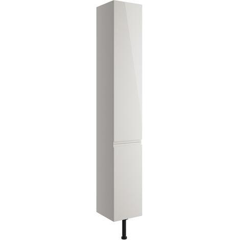 BTL Valesso 300mm Tall Unit - Pearl Grey Gloss