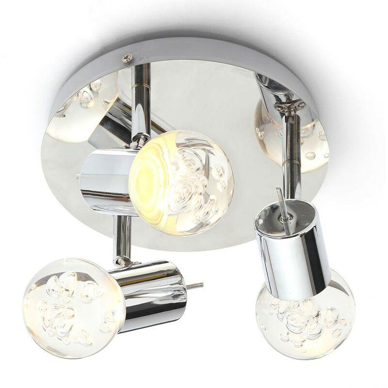 Image of Bubble 3 Light Ceiling Spotlight Fitting