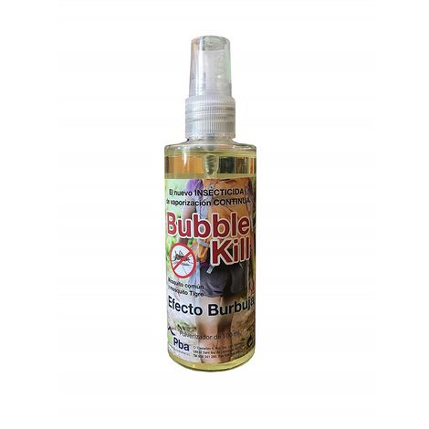 Bubble Kill Líquido Anti Mosquitos Especial Senderismo, Camping, Travesías - Spray 100 ml