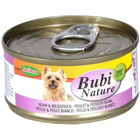 Bubi nature poulet & poisson blanc