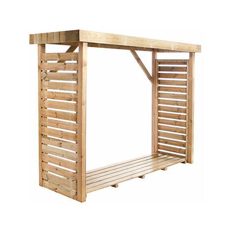 Bucher en bois 239x90x183 cm