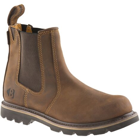 Buckbootz B1300 Non Safety Dealer Boots Brown (Sizes 6-13) Men's Shoes