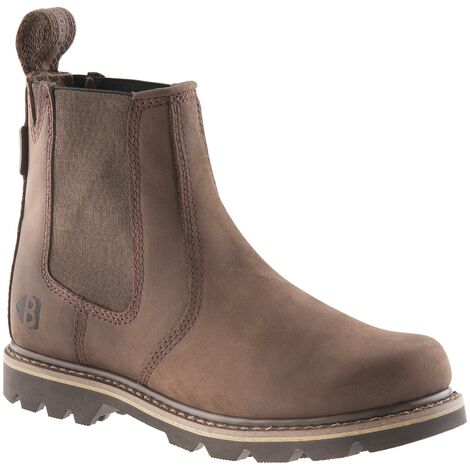 Buckbootz B1400 Non Safety Dealer Boots Chocolate Oil (Sizes 6-13) Men's Shoes