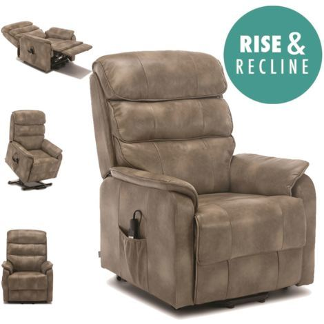 BUCKINGHAM RISE REC LEATHER RECLINER - different colors