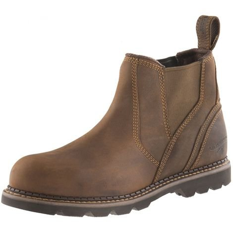 d53eab30d72ed Buckler B1555SM Safety Dealer Work Boots Waxed Brown (Sizes 6-13) Mens  Steel Toe