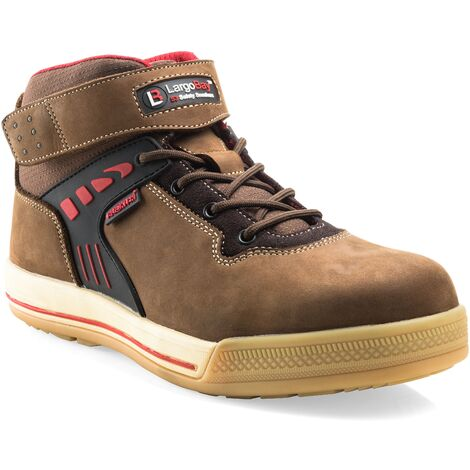 Buckler Largo Bay High-Top Safety Work Trainer Boots Brown (Sizes 6-13) Men's