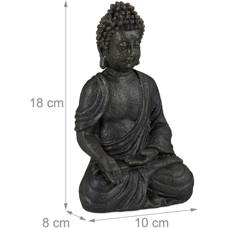 wunderschöne Buddha Figur Skulptur Statue Kunststein ca 30 cm Höhe