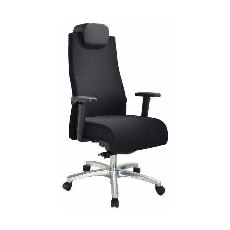 Bürodrehstuhl | Belastbar bis 150 kg | Punktsynchron-Mechanik | Schiebesitz |