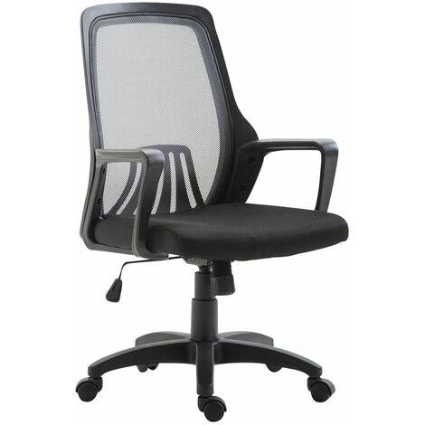 Bürostuhl Clever-schwarz/grau